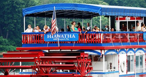 Hiawatha Riverboat Cruises - **CANCELLED UNTIL FURTHER NOTICE**