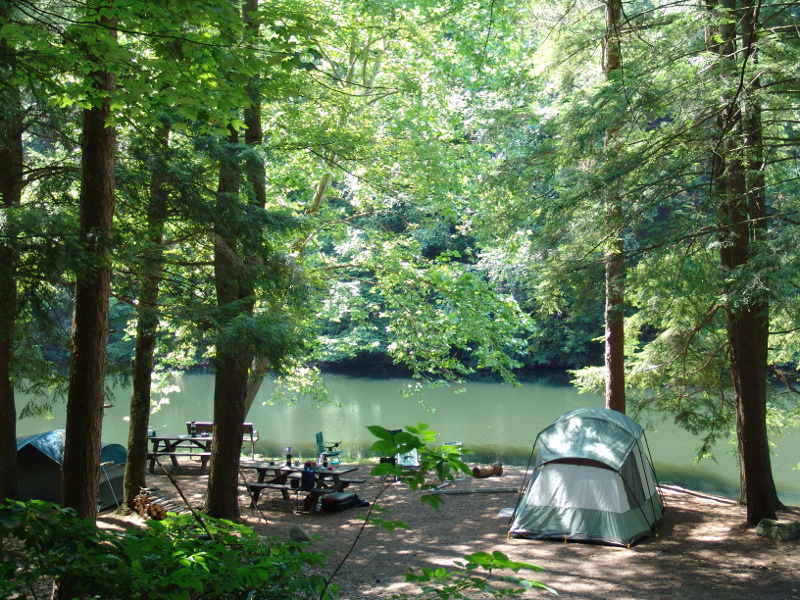 Clinton County Camping