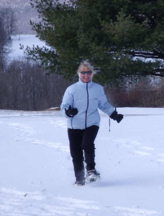 Snow Shoeing in Clinton County