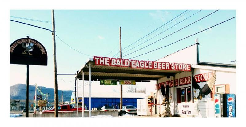 Bald Eagle Beer Store