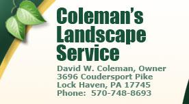 Coleman's Landscape Service