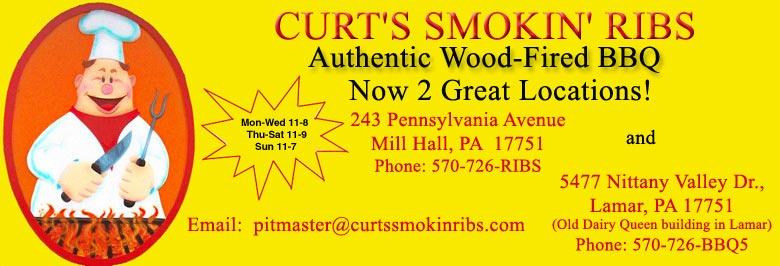 Curt's Smokin' Ribs