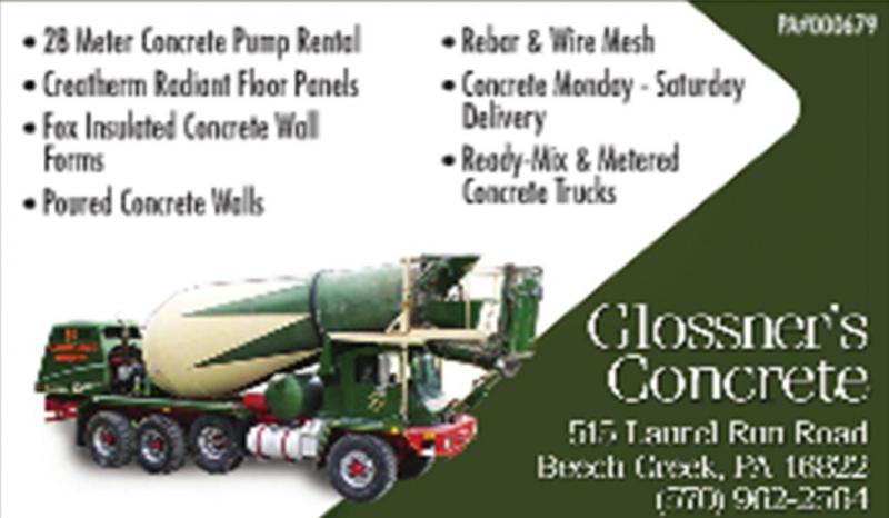 Glossner's Concrete, Inc.