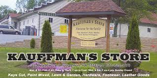 Kauffman's Tent Sale