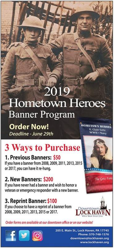 Purchase a Hometown Hero Banner