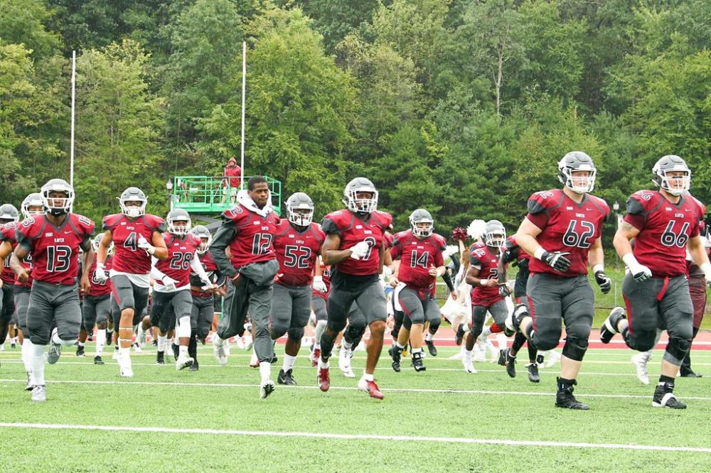 LHU Football/Salvation Army Canned Food Drive