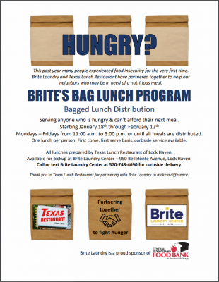 Brite's Bag Lunch program