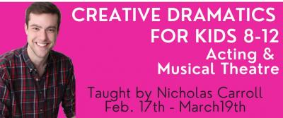 Kids Creative Dramatics Workshop: Musical Theatre