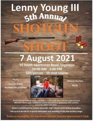 Lenny Young III Memorial Shotgun Shoot